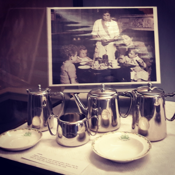 Social History, Blaise Mansion Cafe display 2018