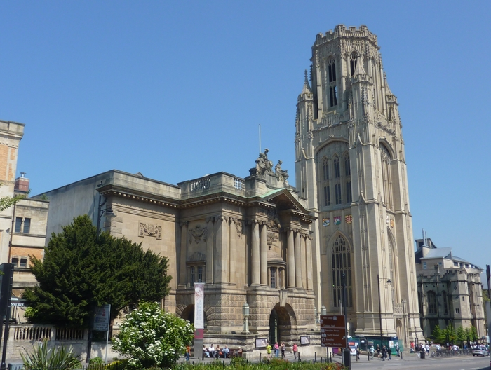 Bristol Museum & Art Gallery with Wills Memorial Tower